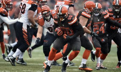 CLEVELAND — Rookie defensive end Emmanuel Ogbah gave the Browns at least one reason to smile Sunday in the 23-10 loss to the Cincinnati Bengals.
