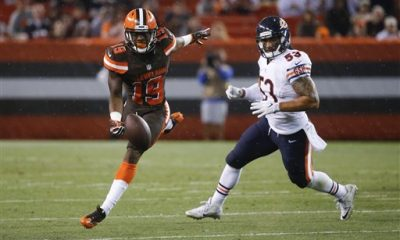 CLEVELAND -- As the 21-7 loss to the Chicago Bears and 0-4 preseason came to a close Thursday night