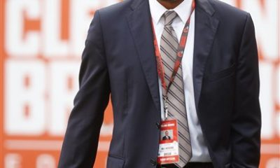 BEREA -- The man making the decisions knows the numbers and the perception. But he dismissed the notion the Browns are tanking this season in an attempt to be better positioned in next year's draft and for the future.