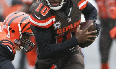 BEREA — Robert Griffin III will be under center when the winless Browns shuffle off to Buffalo. But if he doesn't play well against the Bills