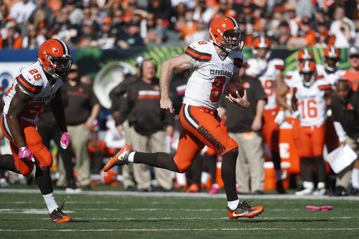 CINCINNATI -- Rookie quarterback Kevin Hogan seeing his first NFL action was part of the plan.
