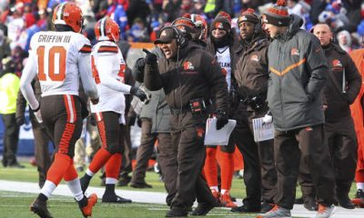 Robert Griffin III will get another chance to lead the Browns (0-14) to their first victory Saturday against the San Diego Chargers.