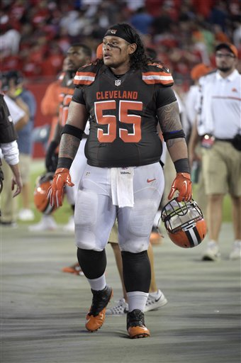 BEREA — Of the many words used to describe nose tackle Danny Shelton's rookie season with the Browns