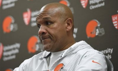 BEREA – The 0-10 start to his Browns career has taken a toll on coach Hue Jackson