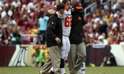 BEREA -- Austin Reiter is headed to season-ending injured reserve after tearing the anterior cruciate ligament in his left knee