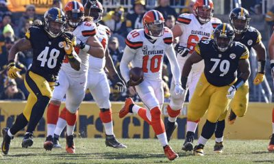 PITTSBURGH -- Robert Griffin III hopes Sunday wasn't the last time he played quarterback for the Browns. In case it was