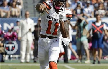 BEREA — Browns wide receiver Terrelle Pryor is having a breakthrough season. As a result