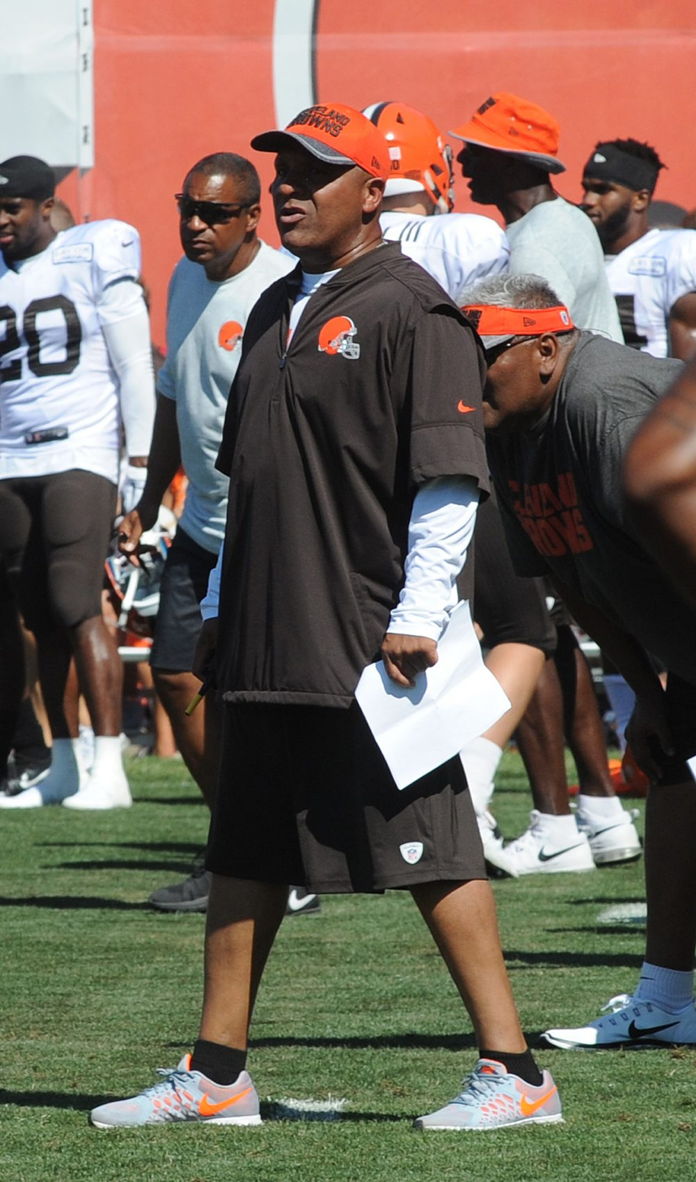 The Browns will open training camp Thursday