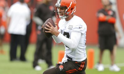 BEREA -- Quarterback Brock Osweiler began the March day like so many others