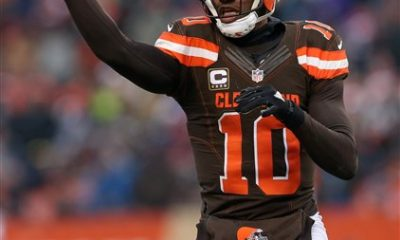 BEREA -- Robert Griffin III didn't always feel the love in his four years in Washington. Things turned sour after a sensational start and he was criticized by coaches and teammates