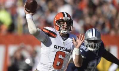 CLEVELAND -- In his first outing since coach Hue Jackson declared the final eight games an audition to be the quarterback of the future