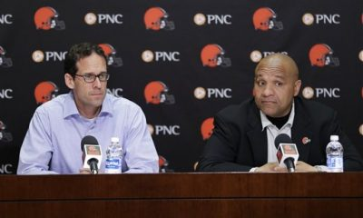 Browns chief strategy officer Paul DePodesta was hired Jan. 5 after 20 seasons as an executive with Major League Baseball teams. He reports directly to owners Jimmy and Dee Haslam and was part of the search committee that identified coach Hue Jackson.