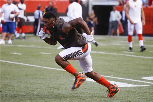 The pressure is about to get real for rookie receiver Corey Coleman.