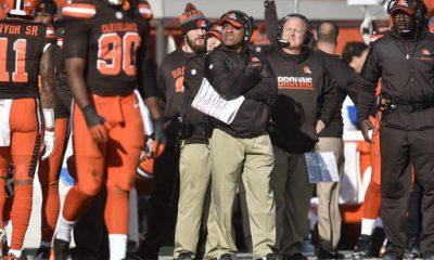 CLEVELAND -- Coach Hue Jackson fell silent