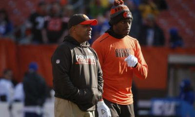 BEREA -- All that separates quarterback Robert Griffin III from returning to the starting lineup is convincing coach Hue Jackson he's ready for the job.