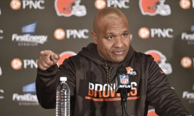 BEREA — The Browns fired Rob Chudzinski after onefour-win season. Pat Shurmur and Mike Pettine each got the ax after two years.