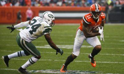 BEREA -- Jets cornerback Darrelle Revis credited his more aggressive