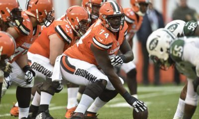 BEREA -- Cameron Erving is more than halfway through his second season but still hasn't been able to settle in.