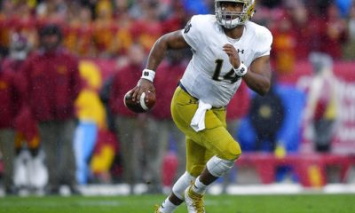 BEREA -- DeShone Kizer left Notre Dame after his redshirt sophomore season to play in the NFL.
