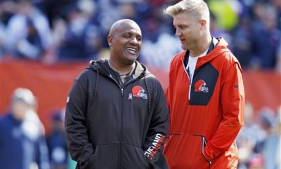 BEREA -- The last time quarterback Josh McCown played the New York Jets -- last year's season opener -- he left with a concussion after he was spun like a propeller as he dived for the goal line.