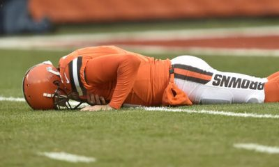 CLEVELAND -- After the Browns allowed eight sacks in a 24-9 loss to the Pittsburgh Steelers