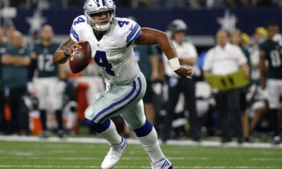 Dallas' Dak Prescott and Cleveland's Cody Kessler weren't expected to play as rookies