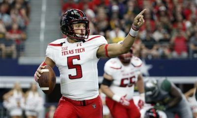 Texas Tech quarterback Patrick Mahomes II spent the first eight years of his life at major league ballparks across America. His father and namesake was a pitcher