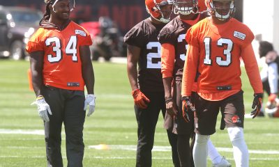 BEREA -- Running back Isaiah Crowell and linebacker Christian Kirksey have talked about securing long-term