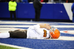 The last time the Browns traveled to play the Buffalo Bills was Nov. 30