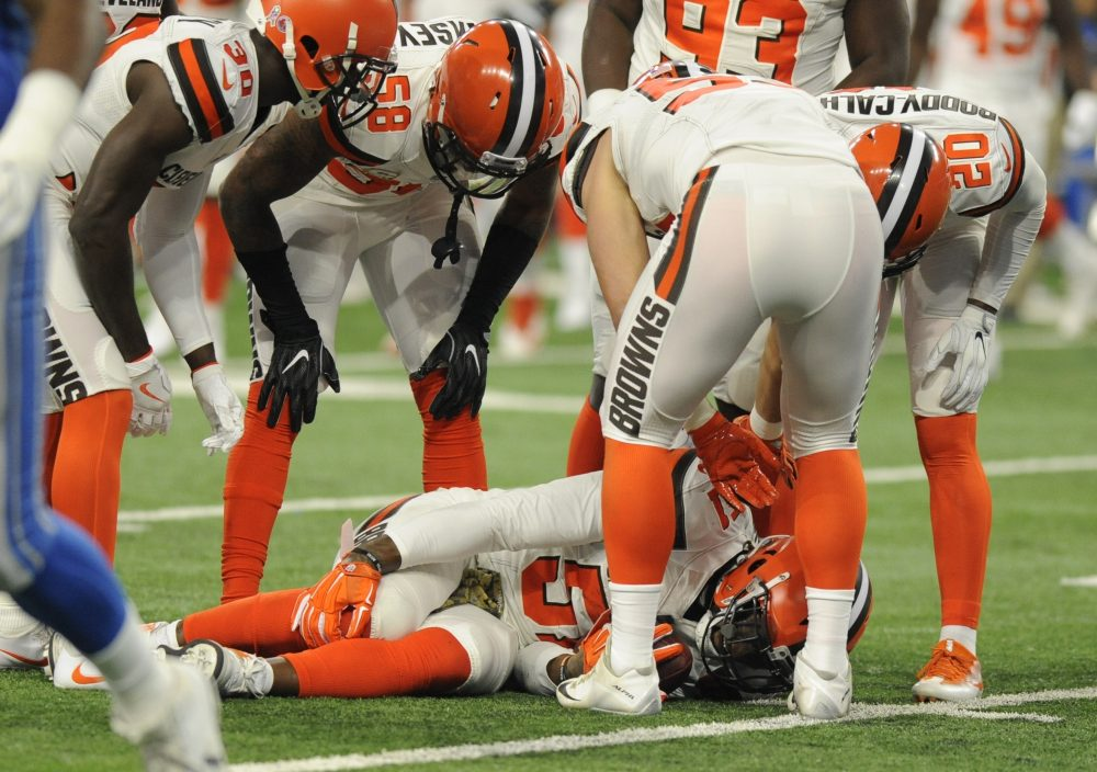 Notes Jamie Collins suffers MCL injury Shon Coleman has