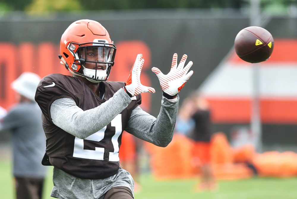 Browns Camp Berea Rookie Denzel Ward Shook Off The Criticism Like Cornerback Must Move On From Bad Play