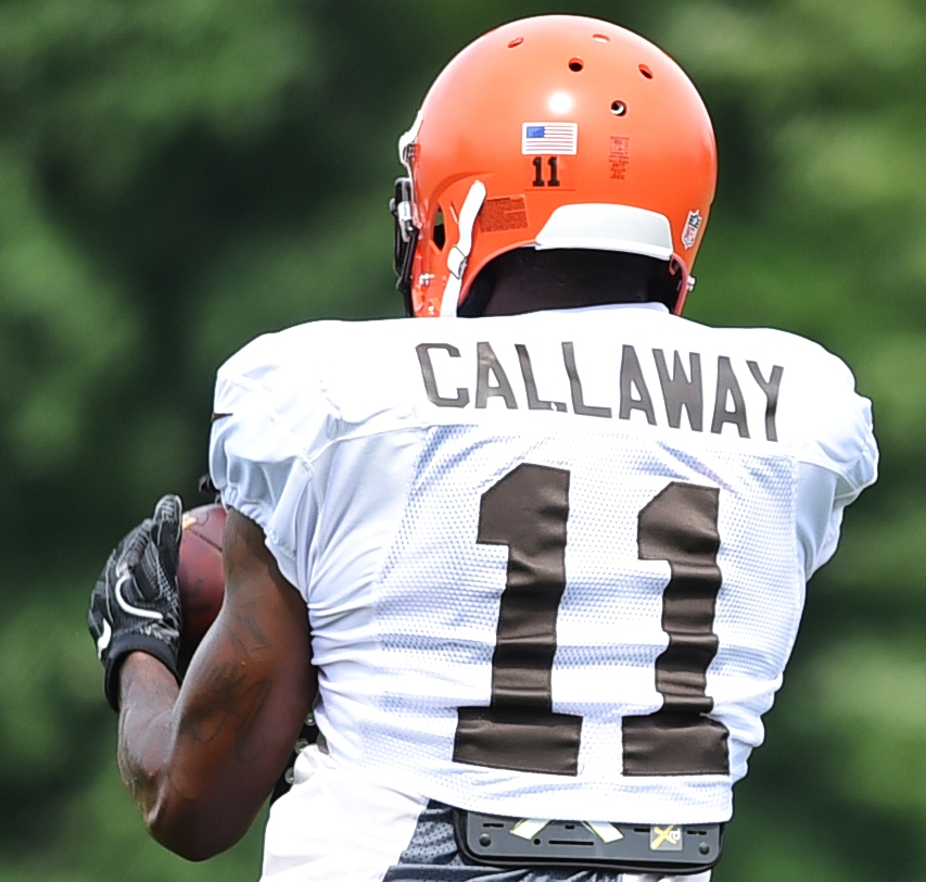 3ef60dff5 BEREA — The Browns took a risk when they drafted receiver Antonio Callaway  in the fourth round in April.