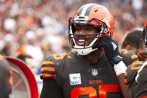 new arrivals 3b6aa 9106c Notes: Myles Garrett not satisfied with 5 sacks in 5 games ...
