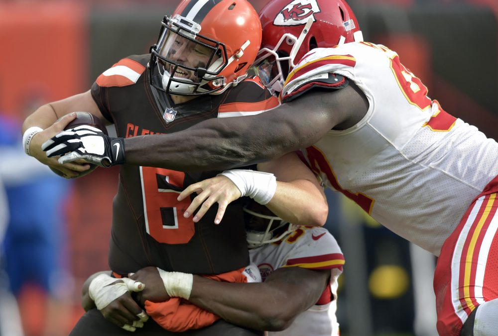 CLEVELAND — Quarterback Baker Mayfield liked the in-week communication with  new coordinator Freddie Kitchens. He liked the aggression of interim coach  Gregg ... 65fb73acb