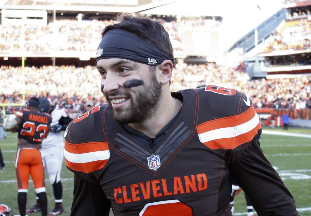 """8cd68851959 Notes  Baker Mayfield not focused on rookie of year but would gladly take  """"revenge"""" on Nick Chubb – BrownsZone with Scott Petrak"""
