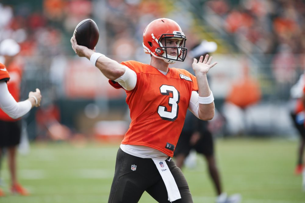 Garrett Gilbert Needs Strong Preseason To Solidify Spot As No 3 Qb And Other Positions To Watch In Opener Vs Washington Brownszone With Scott Petrak